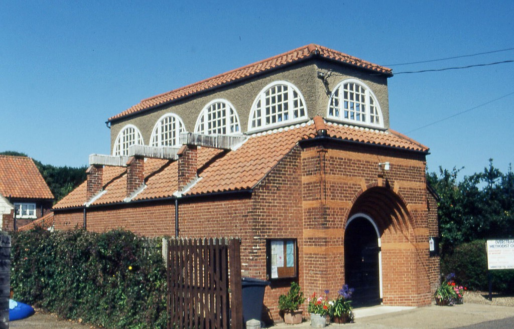 Methodist Church, Overstrand, Norfolk, designed by Edwin Lutyens in 1898