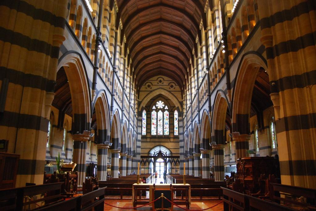 St Paul's Cathedral, Melbourne, Australia