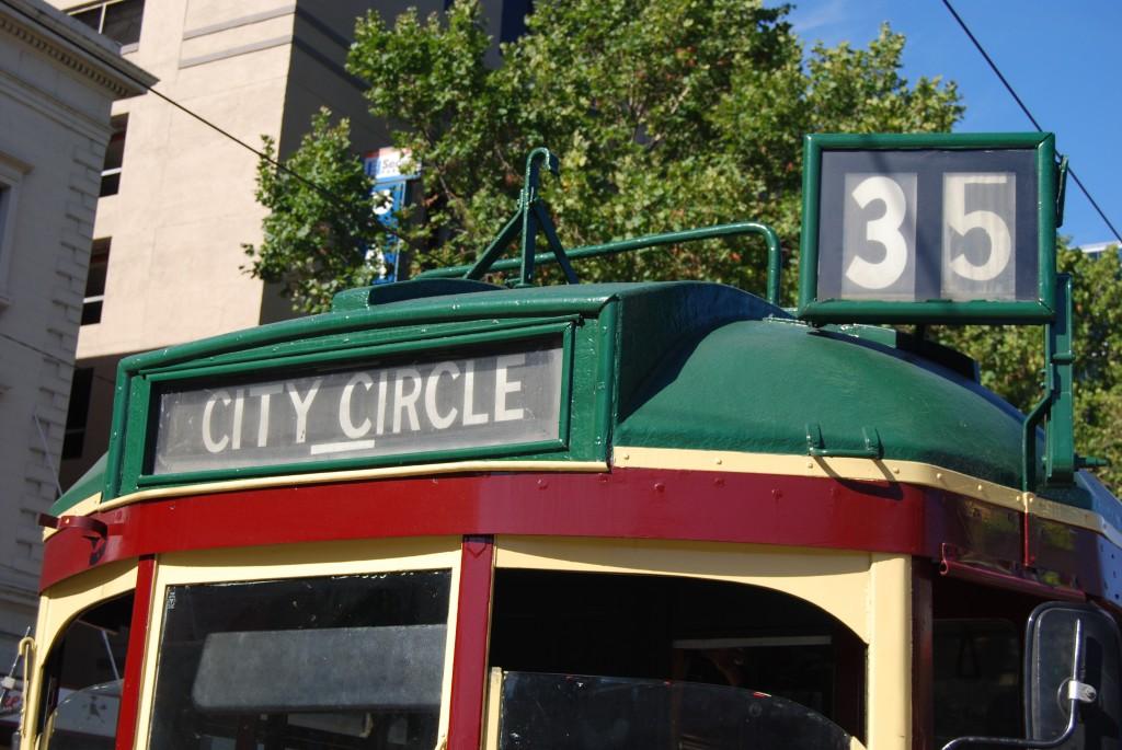 City Circle tram, Melbourne, Australia