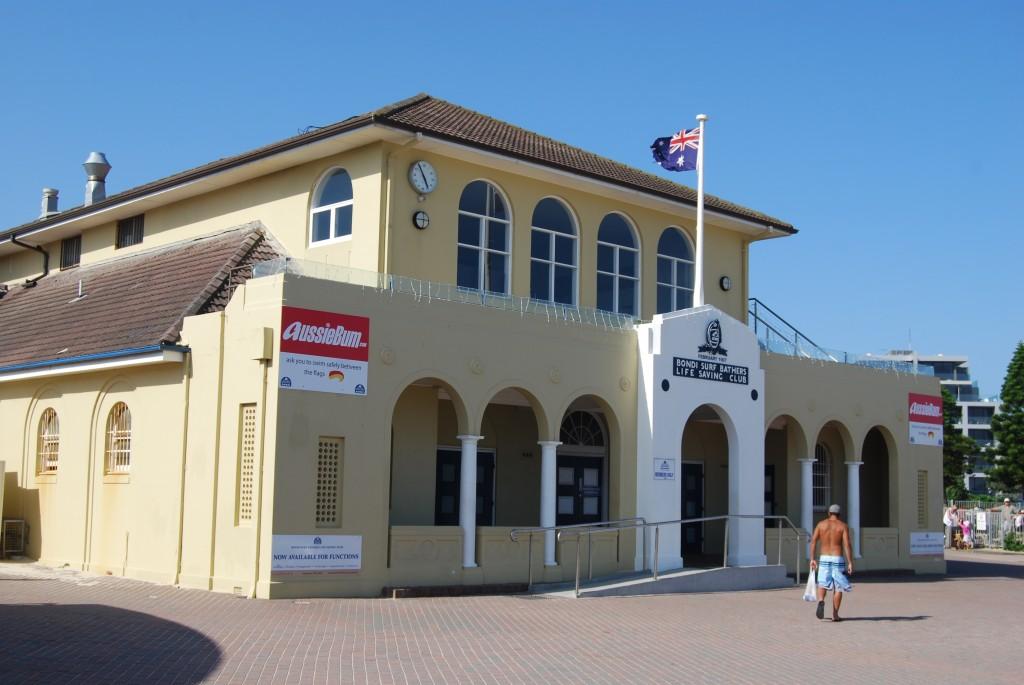 Bondi Surf Bathers Life Saving Club, Bondi Beach, Sydney, Australia