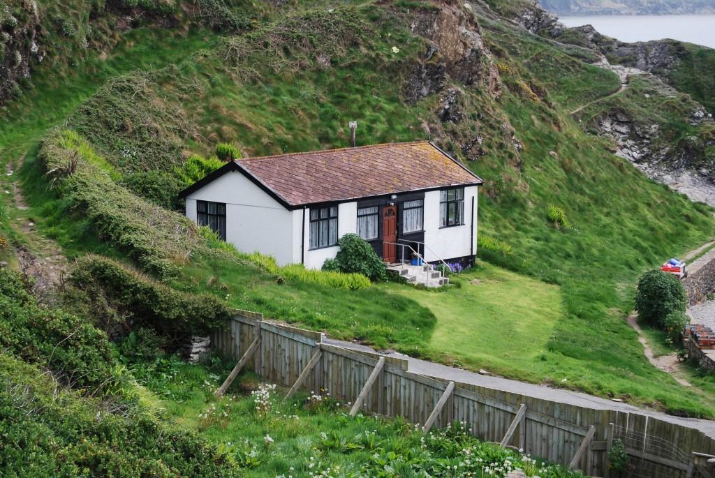 Florrie Forde's cottage, Niarbyl, Isle of Man