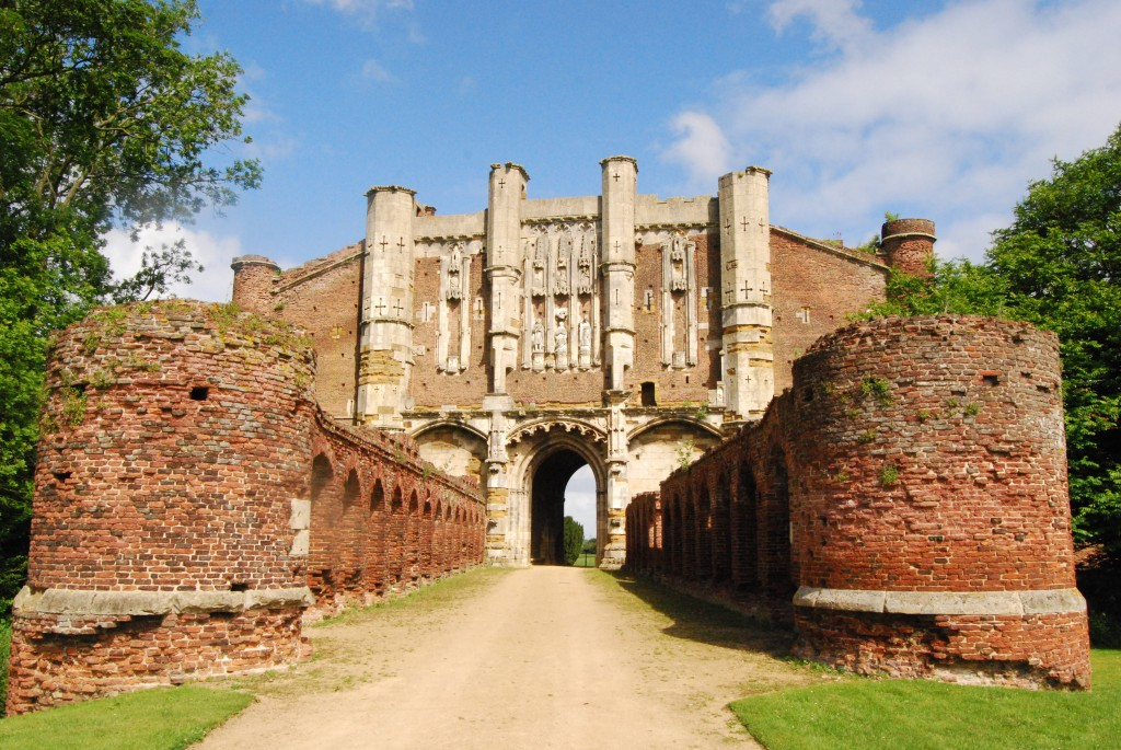 Thornton Abbey, Lincolnshire:  gatehouse