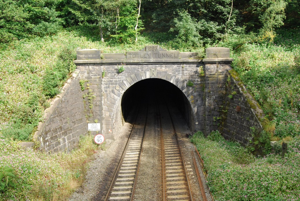 Totley Tunnel, west portal, Grindleford, Derbyshire