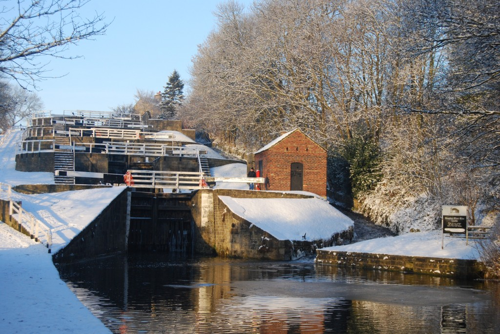Bingley Five Rise, Leeds & Liverpool Canal, West Yorkshire
