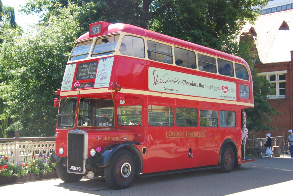 London Transport RTL68, operated by Hassle-free Tours, Christchurch, New Zealand, February 2011