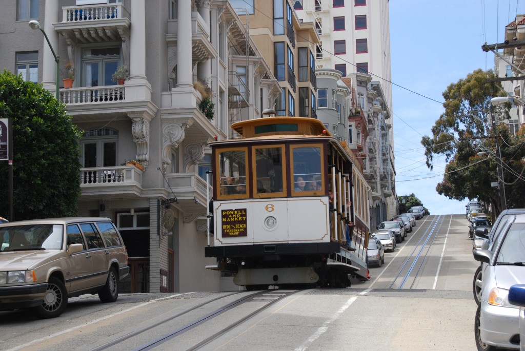 San Francisco cable car 6