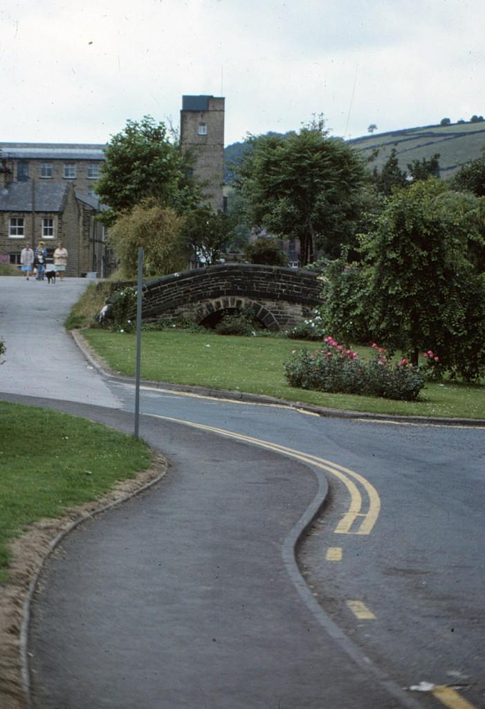 Huddersfield Narrow Canal:  Slaithwaite, West Yorkshire (1979)