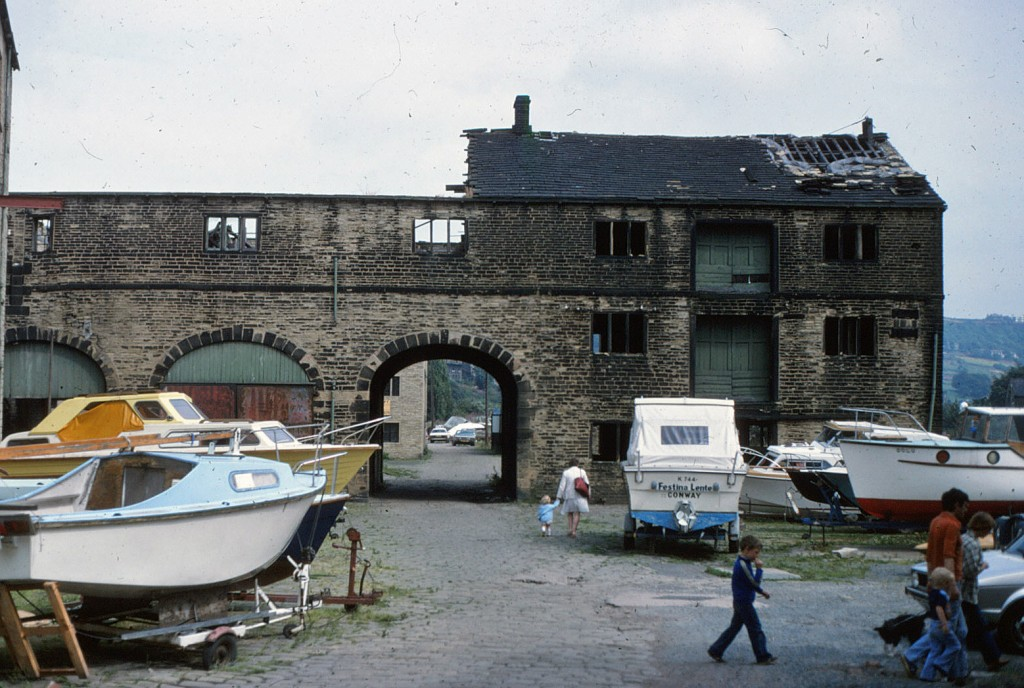 Sowerby Bridge Wharf, West Yorkshire (1979)