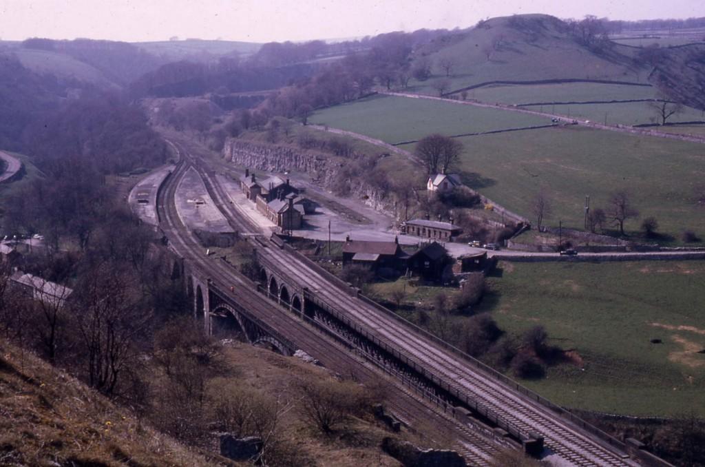 Miller's Dale Station, Derbyshire (1970)
