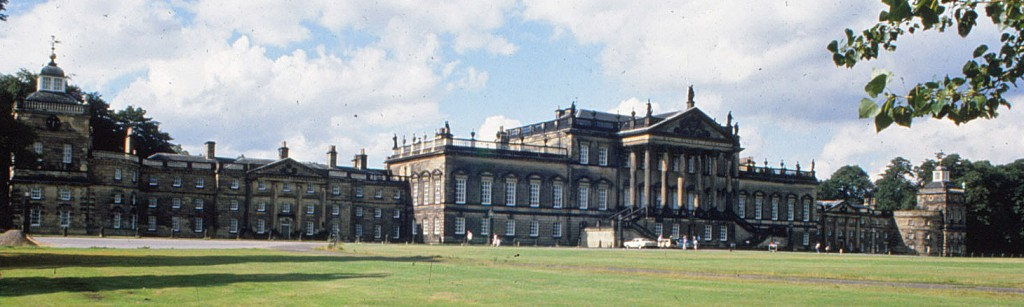 Wentworth Woodhouse:  east front