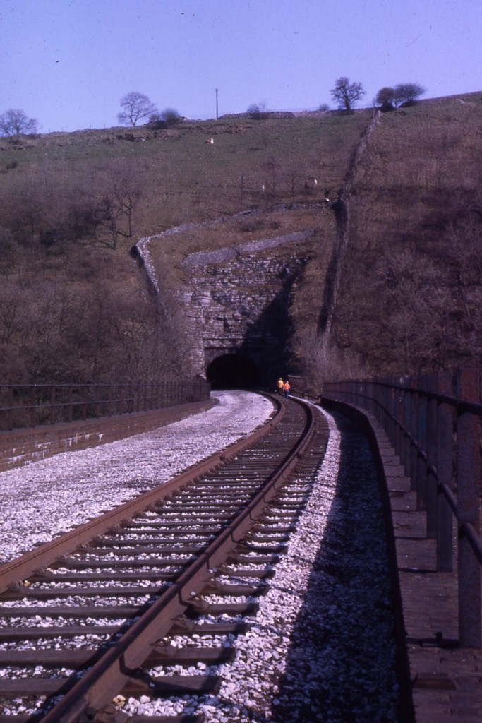 Monsal Dale Viaduct & Headstones Tunnel, Derbyshire (1970)