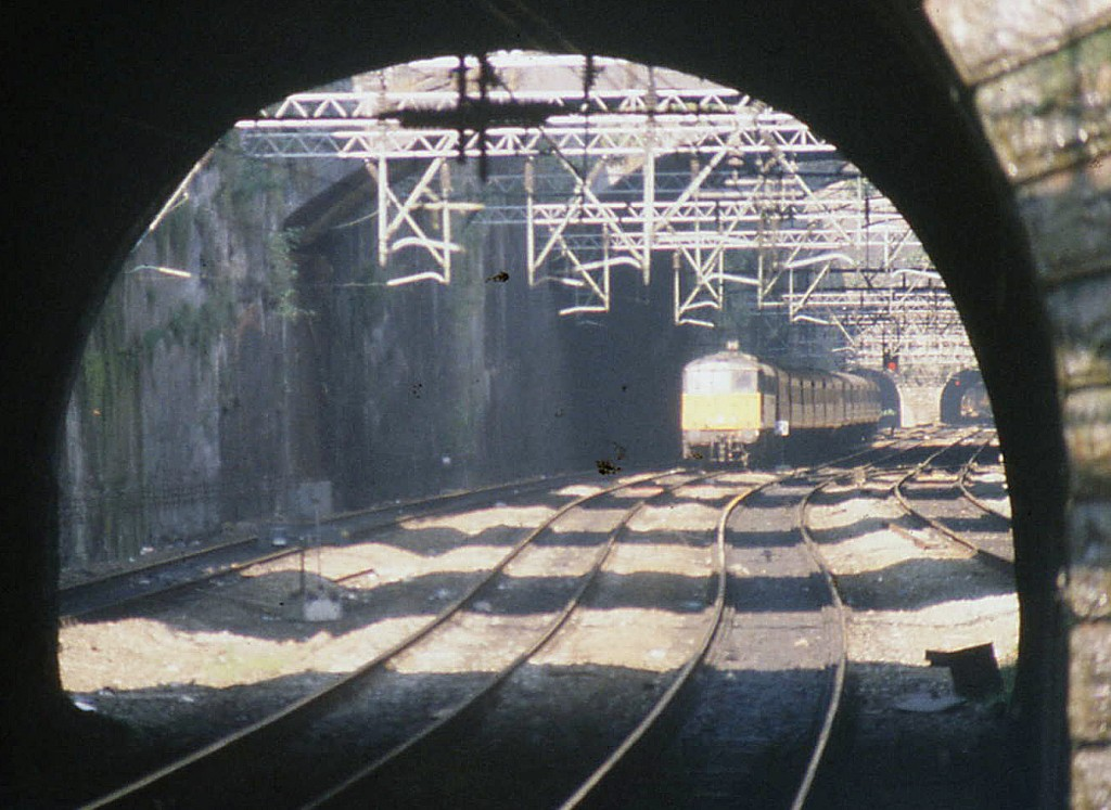 Edge Hill Cutting, Liverpool (1990)
