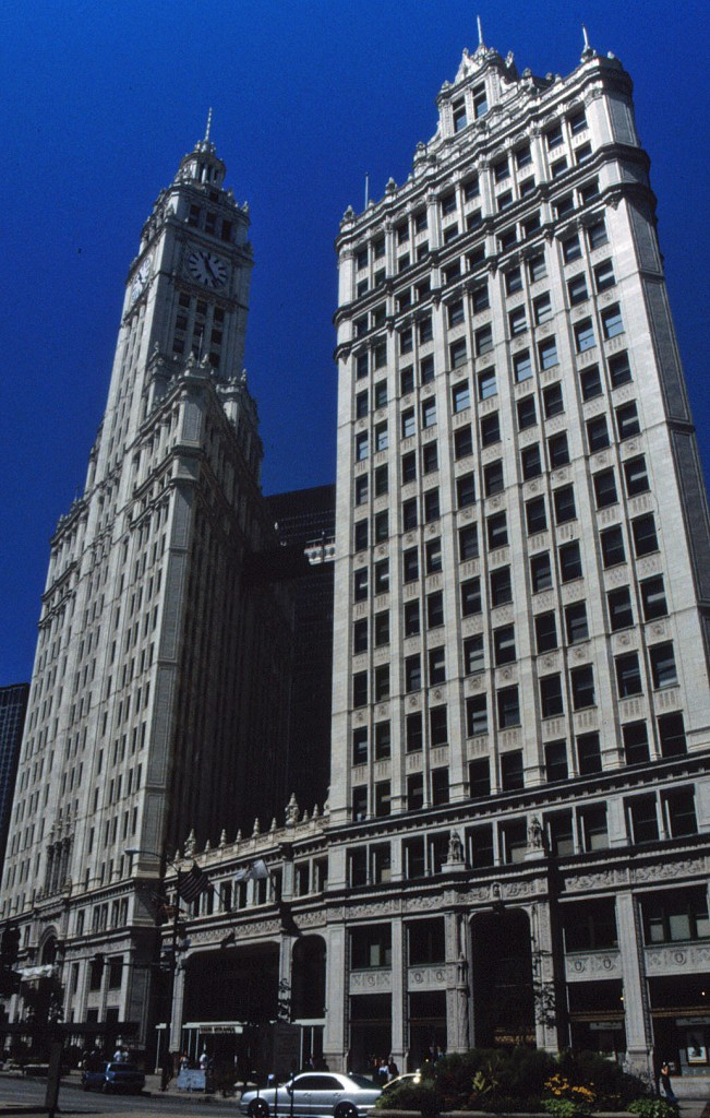 William Wrigley Junior Building, Chicago