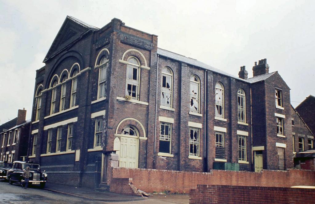 Wesleyan Reform Chapel, Bodmin Street, Attercliffe, Sheffield (1977)