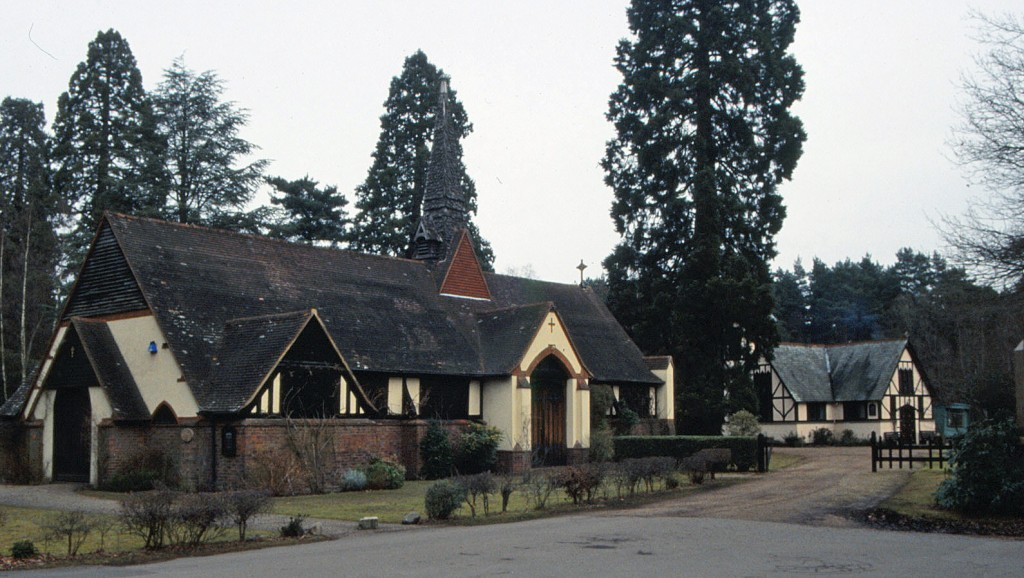 Shrine of St Edward the Martyr (former South Station), Brookwood Cemetery, Surrey