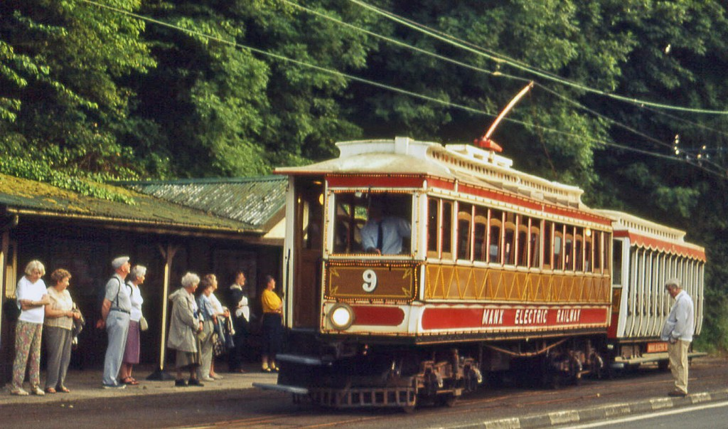 Manx Electric Railway:  Groudle Glen