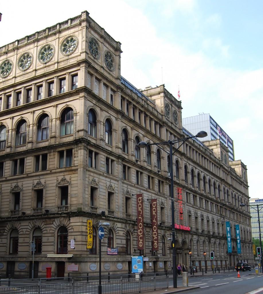 Former Watts Warehouse, now Britannia Hotel, Manchester