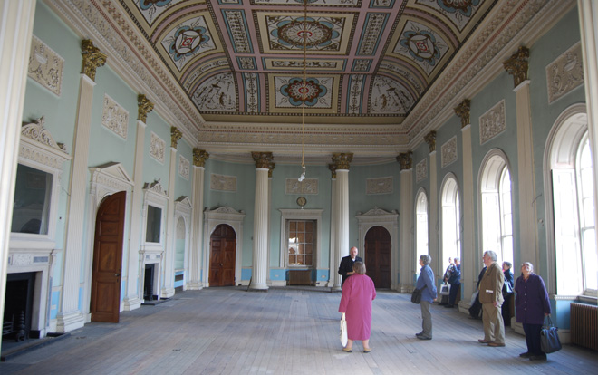 Assembly Room, former Great Hotel, The Crescent, Buxton, Derbyshire