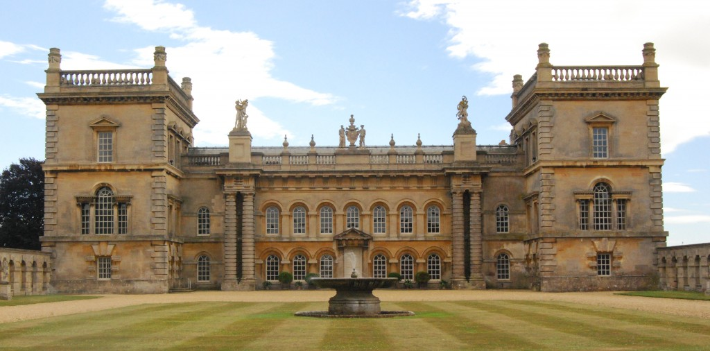 Grimsthorpe Castle, Lincolnshire:  north front