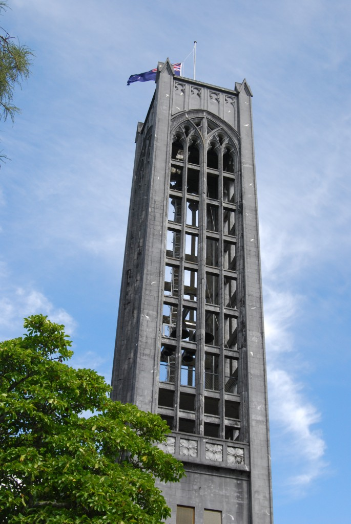 Christ Church Cathedral, Nelson, New Zealand:  tower