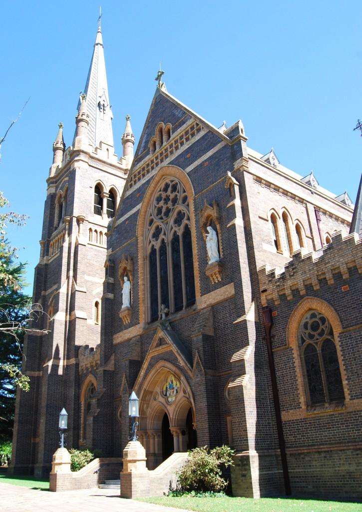 Catholic Cathedral of St Mary & St Joseph, Armidale, New South Wales, Australia