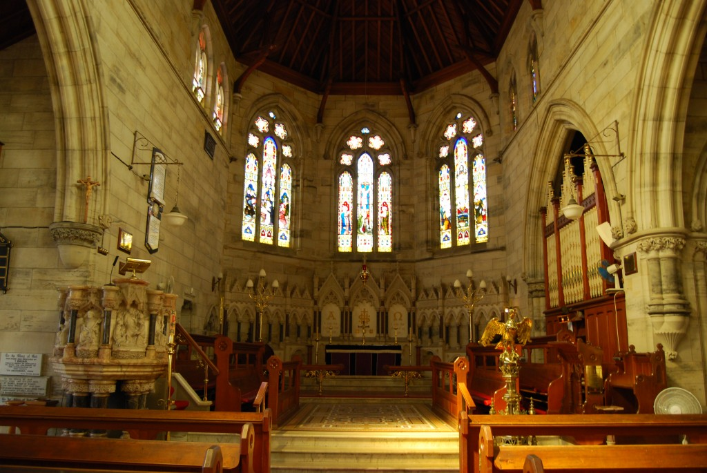 St Peter's Church, East Maitland, New South Wales, Australia (interior)