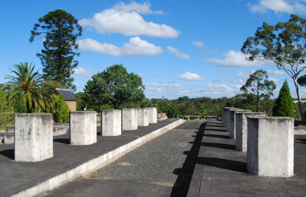 Site of Cemetery Station No 1, Rookwood Cemetery, Sydney, Austrralia