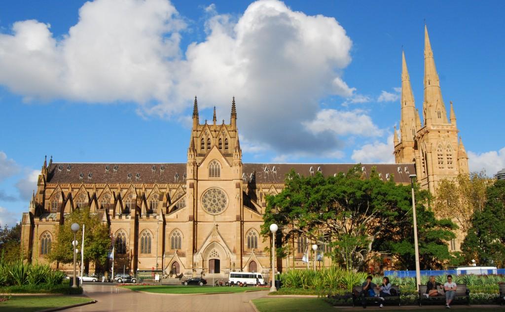 St Mary's Roman Catholic Cathedral, Sydney, Australia