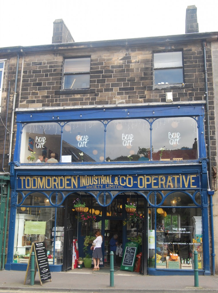 Former Todmorden Industrial & Co-operative Society Limited branch, Todmorden, West Yorkshire
