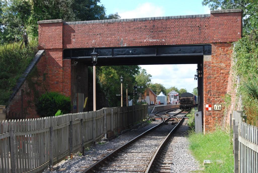 Blunsdon Station, Swindon & Cricklade Railway, Wiltshire