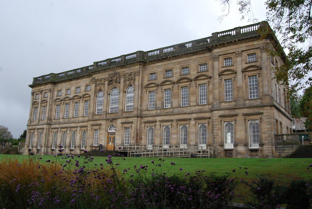 Wentworth Castle, South Yorkshire:  east front