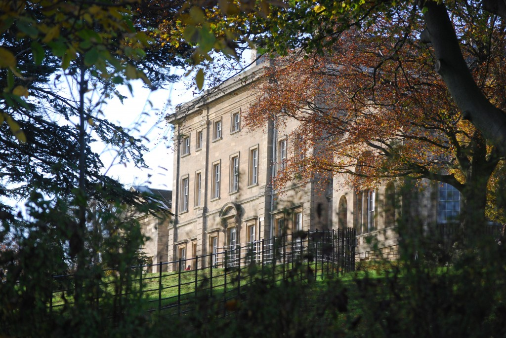 Cusworth Hall, South Yorkshire:  south front