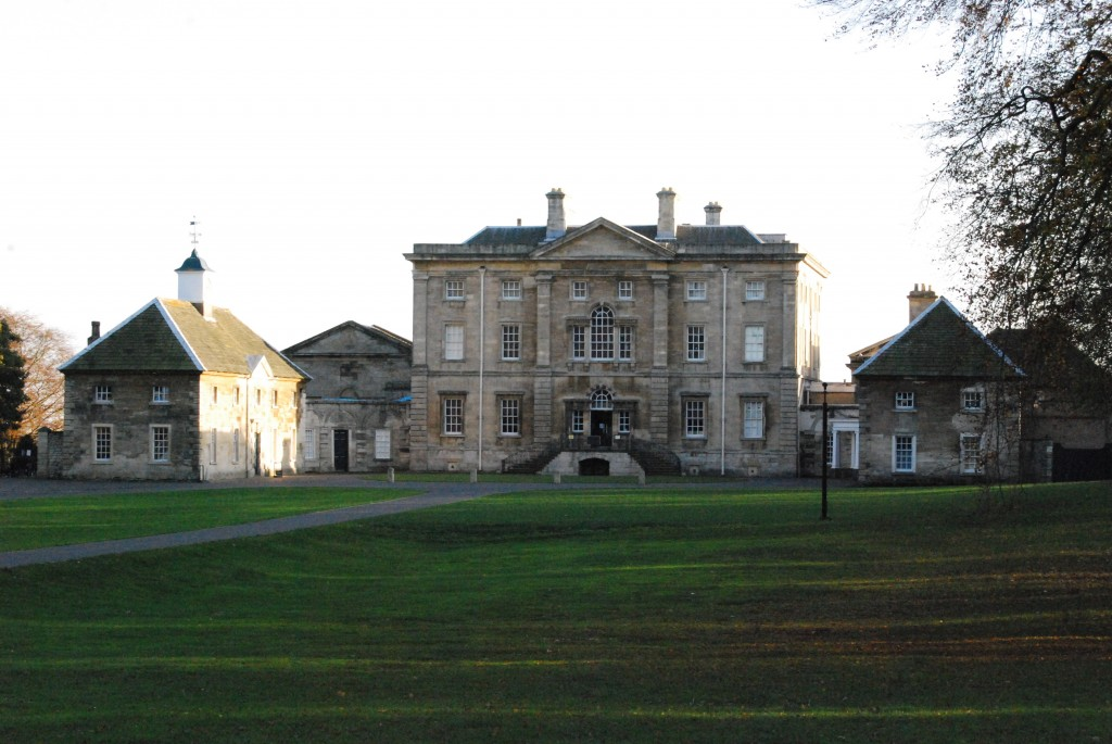 Cusworth Hall, South Yorkshire:  north front