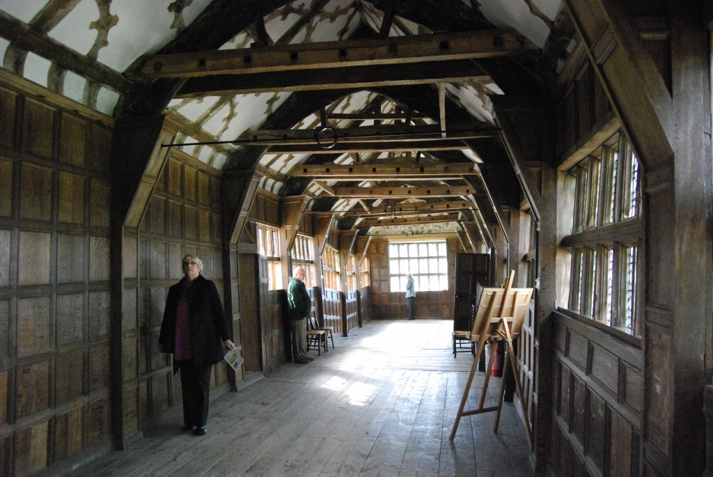 Little Moreton Hall, Cheshire:  Long Gallery