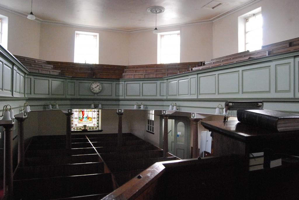 Octagon Chapel, Heptonstall, West Yorkshire