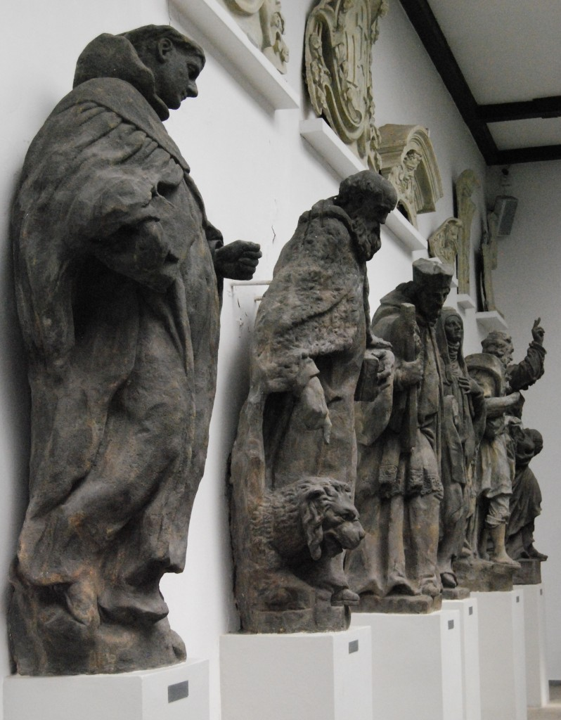 The Lapidarium, Stromovka, Prague, Czech Republic