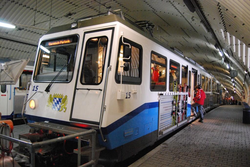 Bayerische Zugspitzbahn (Bavarian Zugspitze Railway), Germany
