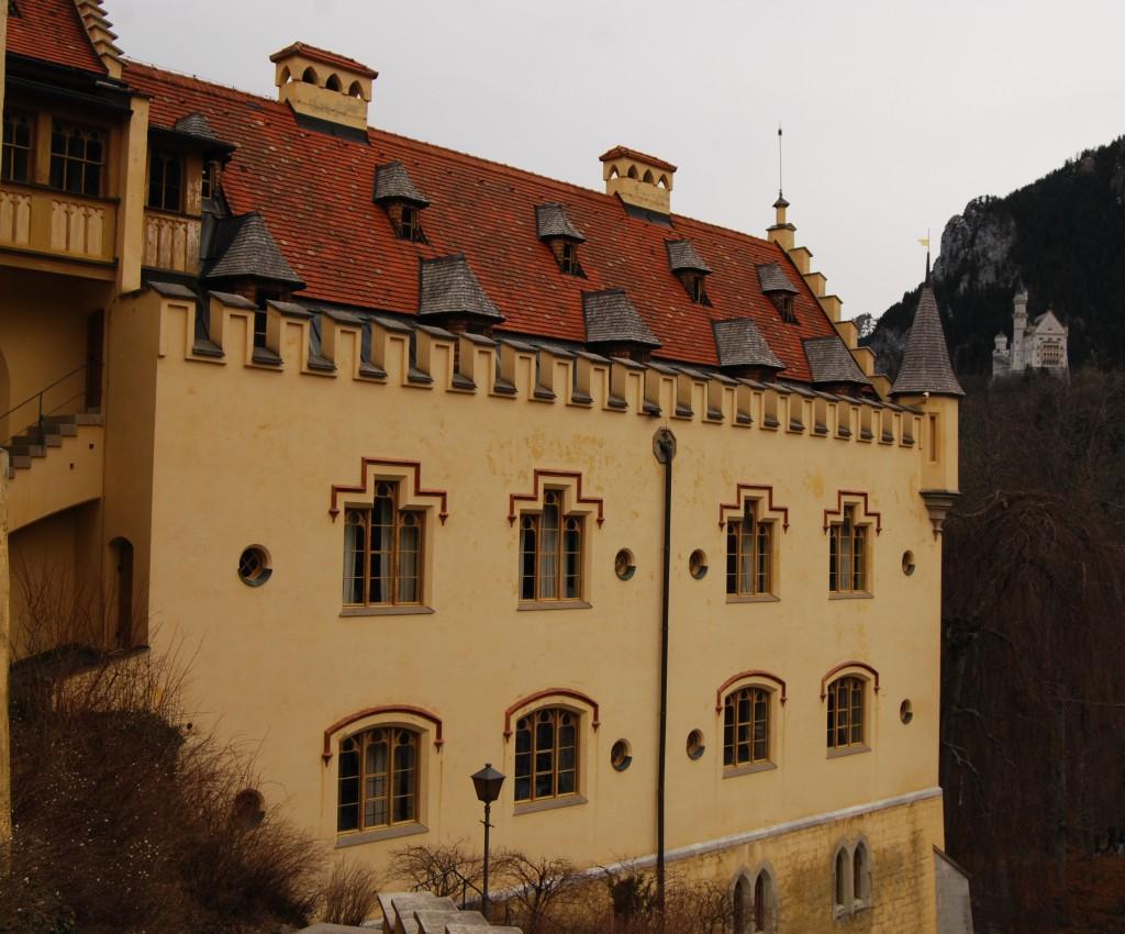 Hohenschwangau (foreground) and Neuschwanstein (background), Bavaria, Germany