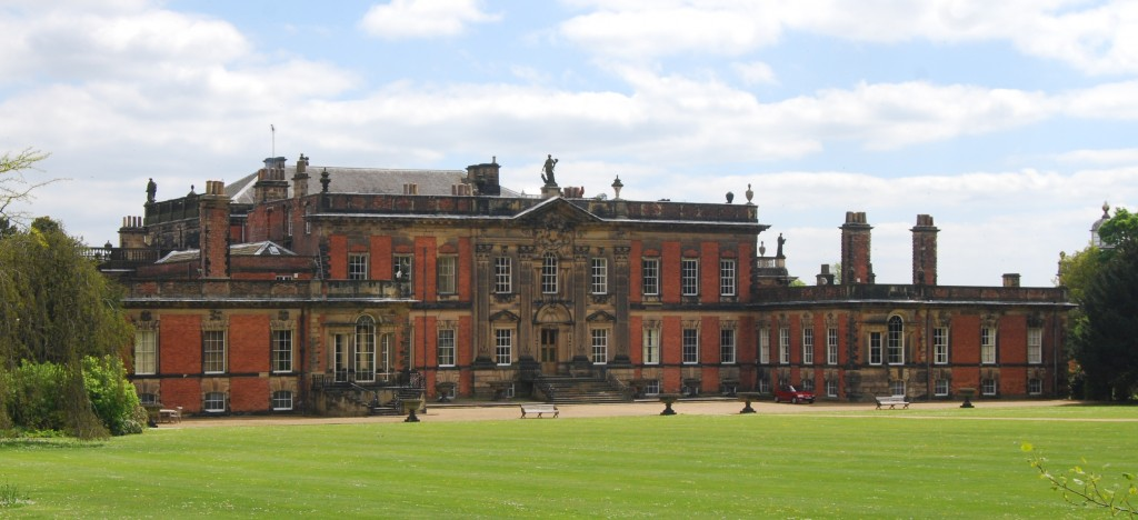 Wentworth Woodhouse, South Yorkshire:  west front