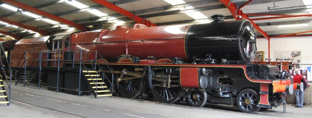 Midland Railway Butterley, Derbyshire:  46203 Princess Margaret Rose