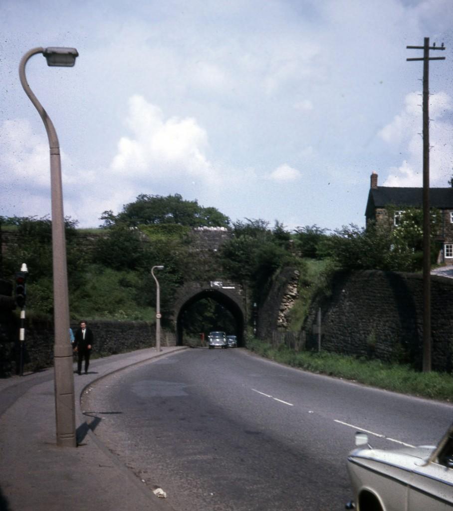 Bull Bridge Aqueduct, Cromford Canal, Derbyshire (1967)