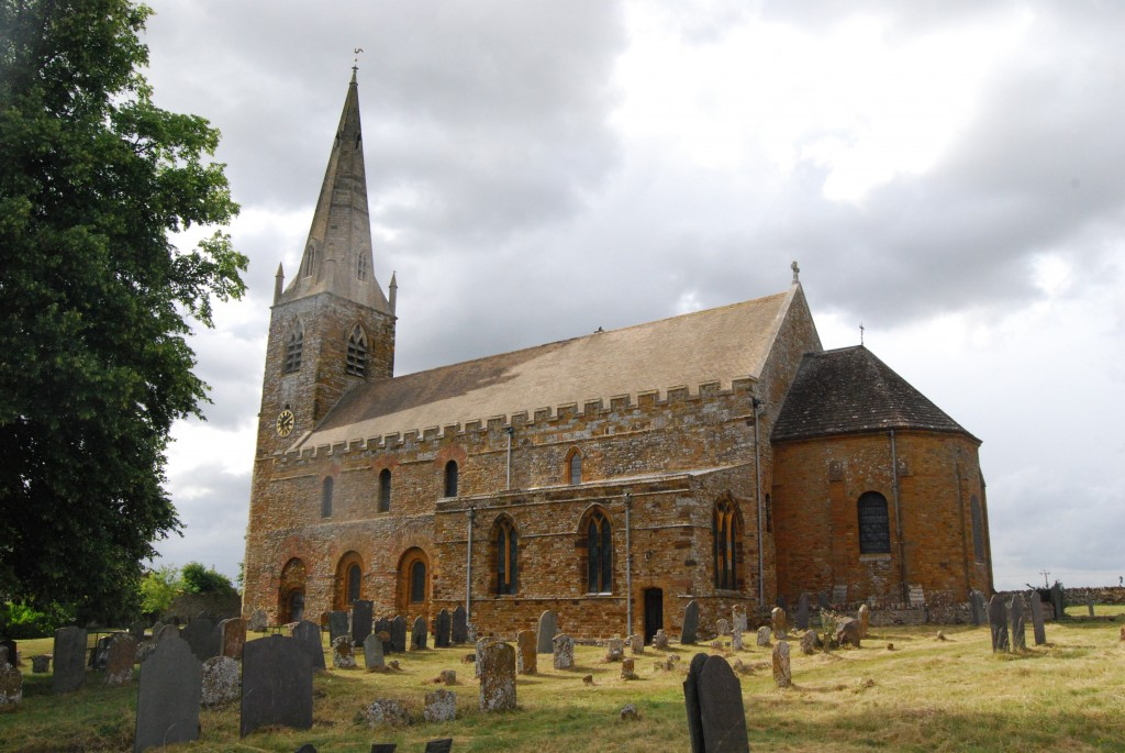 All Saints' Church, Brixworth, Northamptonshire
