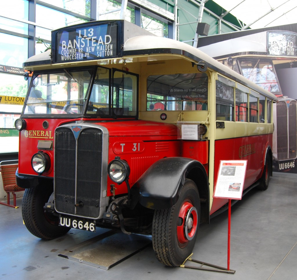 London Bus Museum, Brooklands:  T31