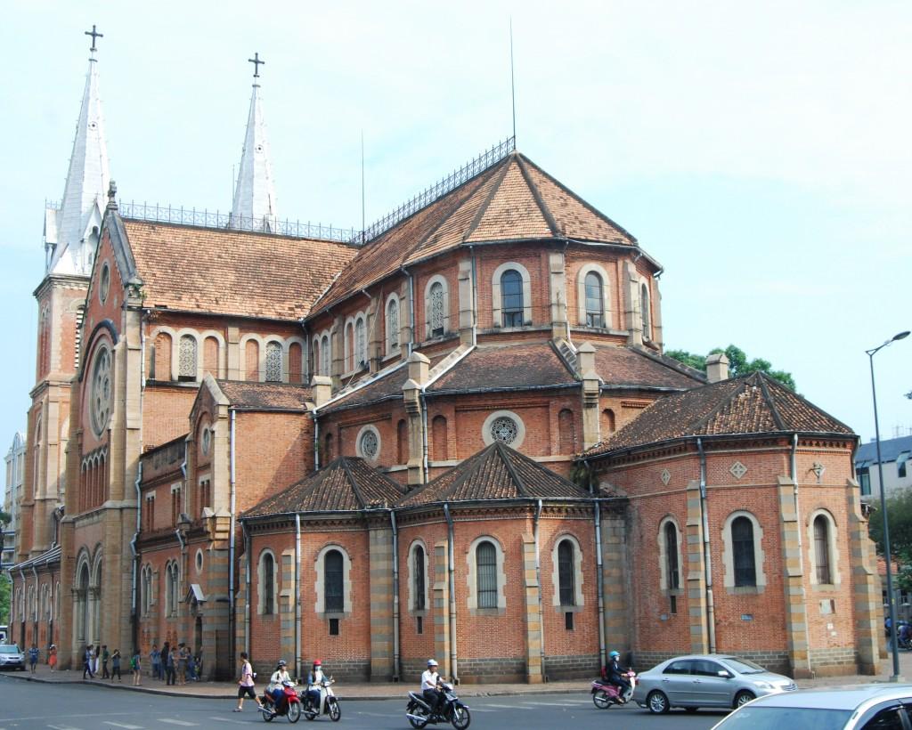Basilica of Notre-Dame, Ho Chi Minh City, Vietnam
