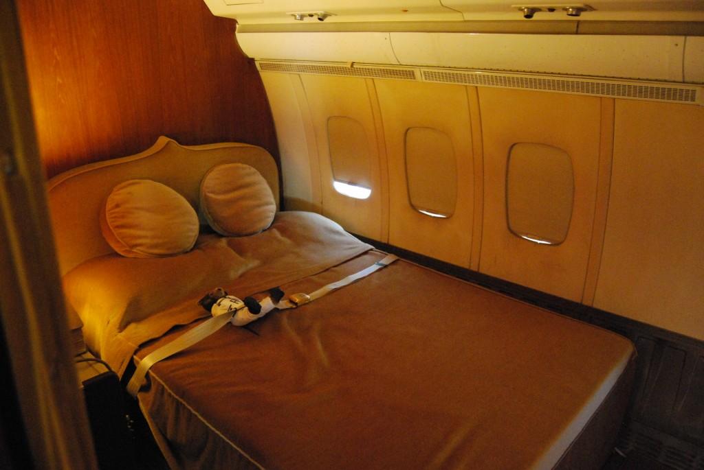 HM The Sultan of Oman's Royal Flight VC10 A4O-AB:  interior