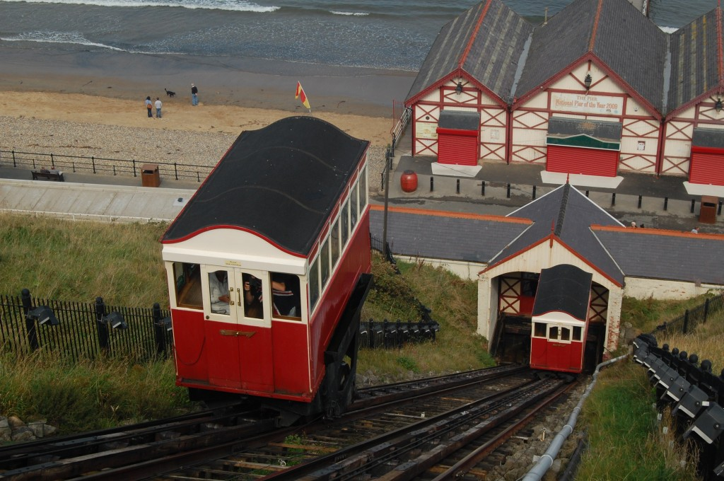 Saltburn-by-the-Sea, North Yorkshire:  the cliff-lift