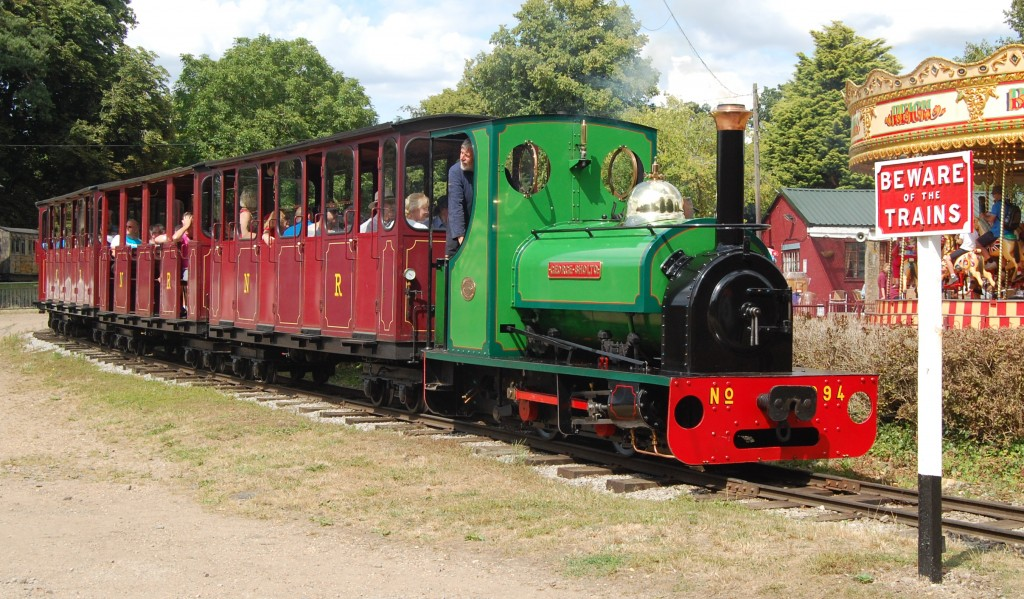 Bressingham Steam & Gardens, Norfolk:  2ft-gauge loco 'George Sholto'