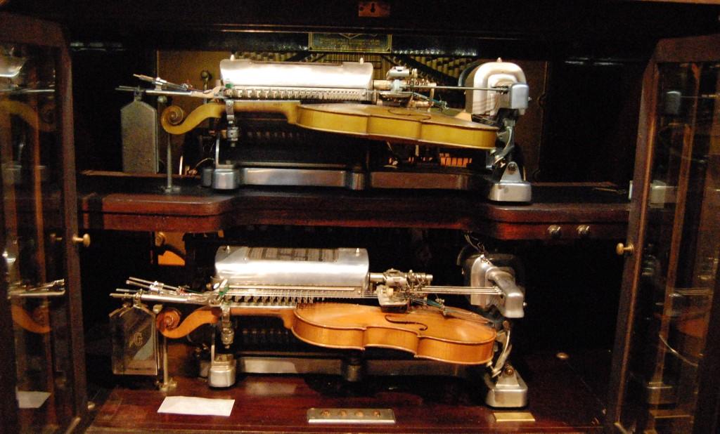 Violana, Musical Museum, Brentford (detail)