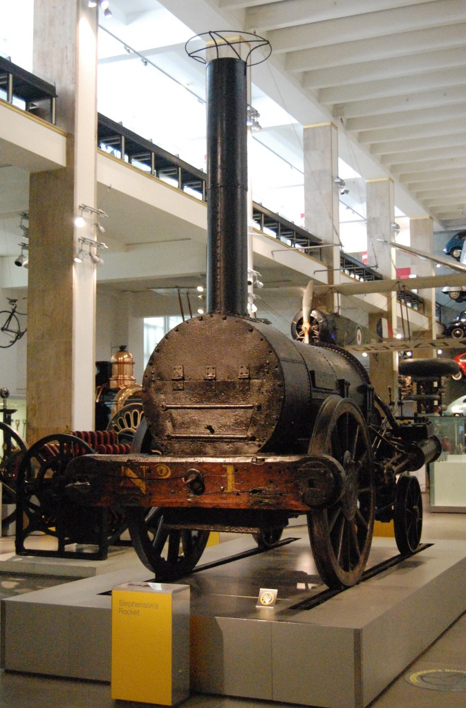 Stephenson's 'Rocket', Science Museum, South Kensington, London