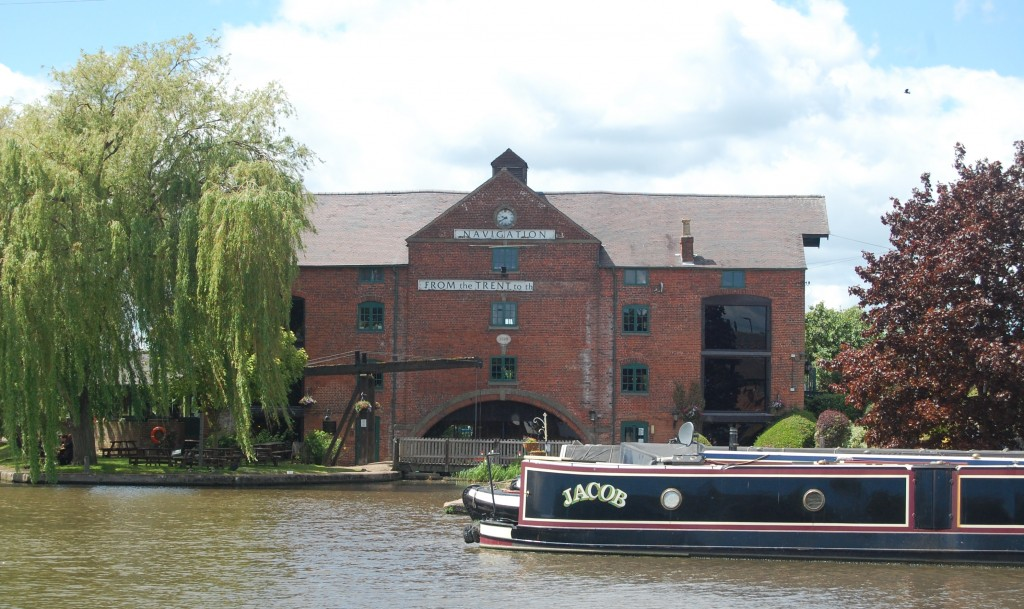Trent & Mersey Canal, Shardlow, Derbyshire, Clock Warehouse